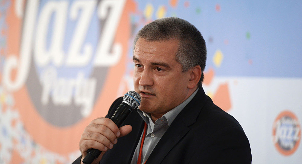 Head of the Republic of Crimea Sergei Aksyonov